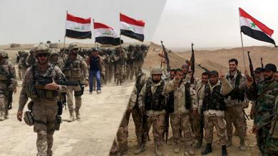 القوات العراقية و السورية