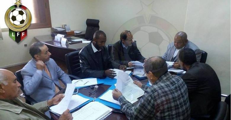 اجتماع لجنة تنظيم المسابقات