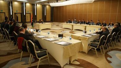 الجالية الليبية بمصر مع السراج