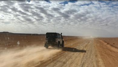 الصحراء الليبية