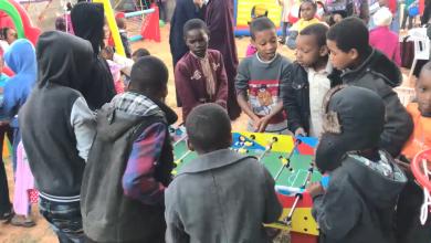 حديقة ألعاب ترفيهية للأطفال وسط قطرون