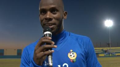 لاعب نادي الخمس امحمد خميس