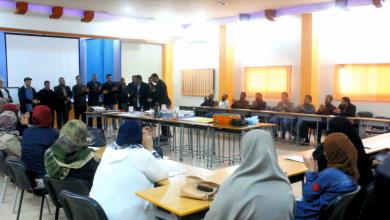 مكتب النشاط المدرسي بمدينة درنة
