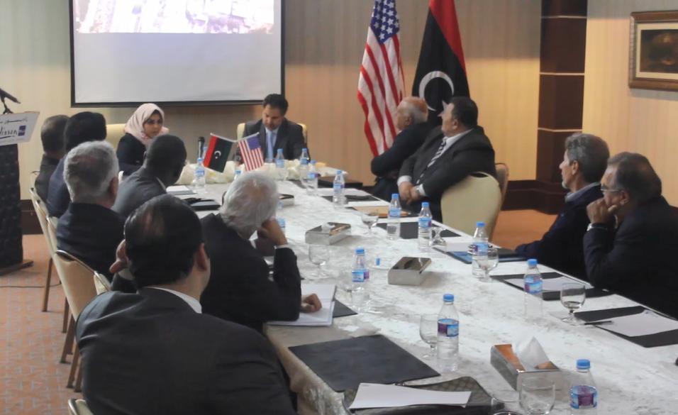 ندوة حول مستقبل العلاقات الليبية الأميركية