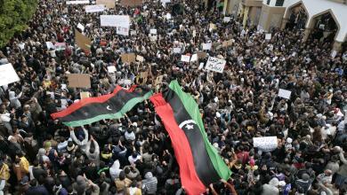 مظاهرات في ليبيا