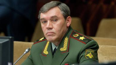 فاليري غيراسيموف رئيس هيئة الأركان العامة للقوات المسلحة الروسية