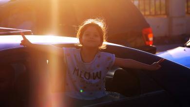 طفلة ليبية - تصوير ماهر العوامي