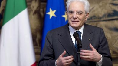الرئيس الإيطالي سيرجيو ماتريلا