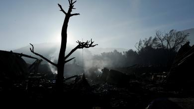 """صورة كاليفورنيا بوضع """"جُهنمي"""".. حرائق الغابات تُخلّف """"دمارا هائلا"""""""