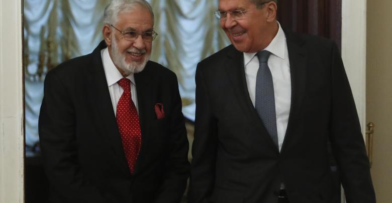 سيرجي لافروف و محمد سيالة