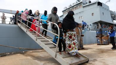 صورة مهاجرون عانوا بعد عودتهم من ليبيا