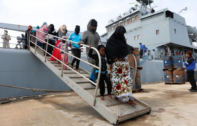 إنقاذ المُهاجرين