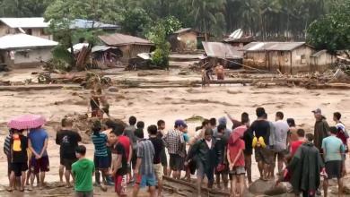 إعصار في فليبين
