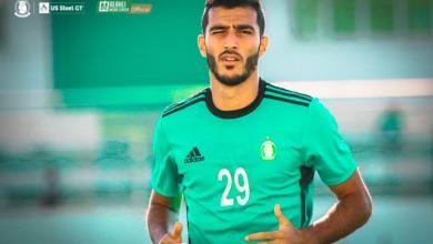 محمد الغنودي لاعب المنتخب الوطني والأهلي طرابلس السابق