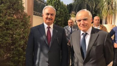 """Photo of حفتر وسلامة يلتقيان في القاهرة.. """"عُرُم ملفات"""" ستُبْحث"""