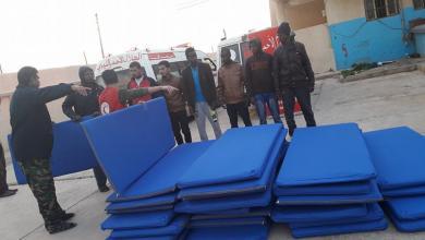 مساعدات الهلال الأحمر