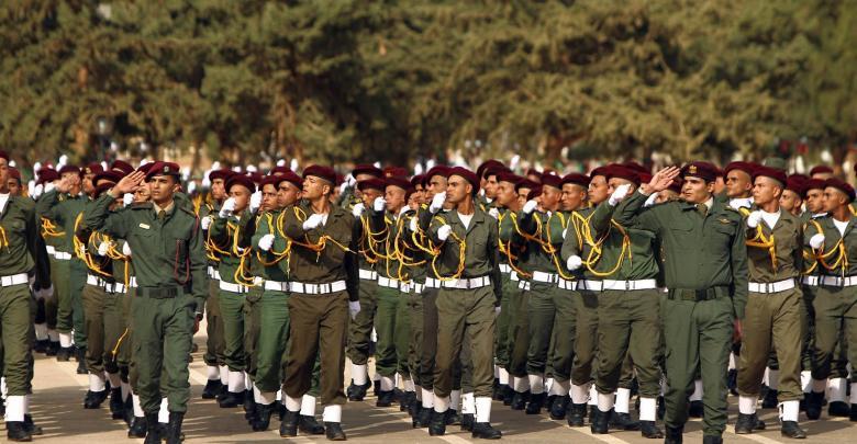 تخريج طلبة الكلية العسكرية