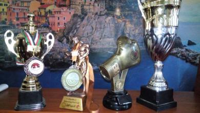 تكريم أبطال الملاكمة وبناء الأجسام بنادي محلة