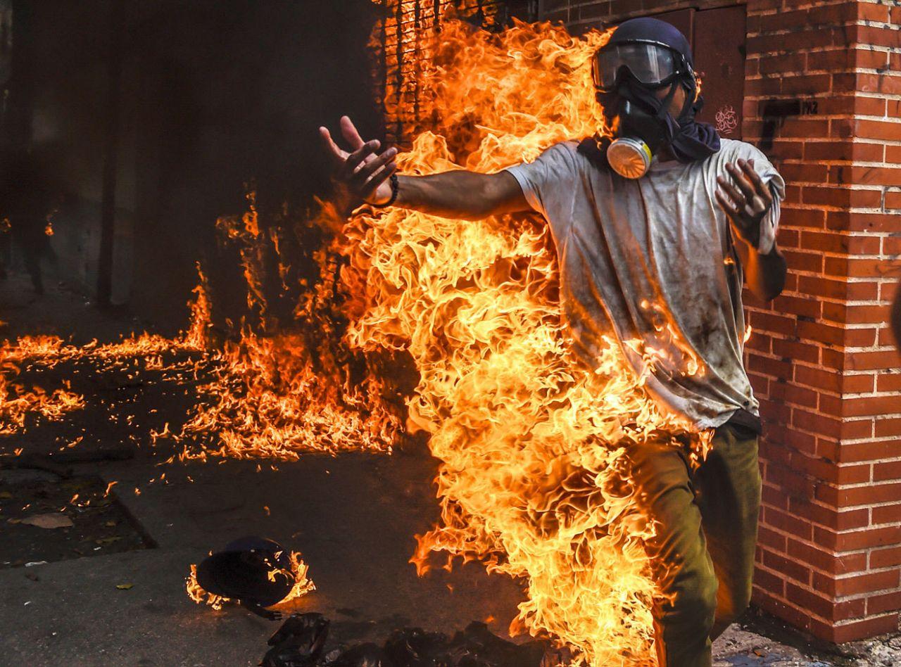 خوان باريتو / أف / جيتي إيماجيس Juan Barreto / AFP / Getty Images