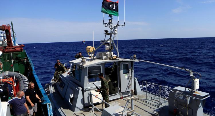 البحرية الليبية - أرشيفية
