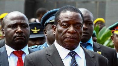 رئيس زيمبابوي إمرسون منانغاغوا