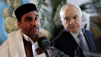 غسان سلامة وعبدالسلام نصية