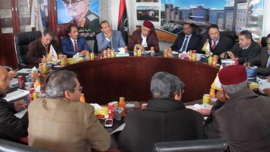 عمداء الشرق الليبي بمقر بلدية الساحل الجبل الأخضر