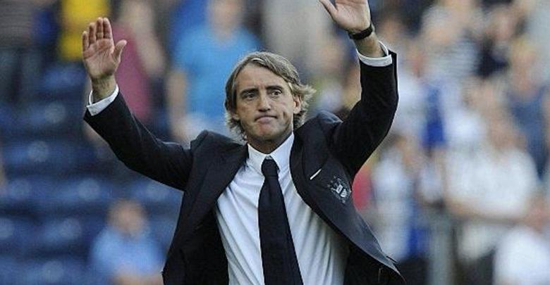 المدرب الإيطالي روبرتو مانشيني