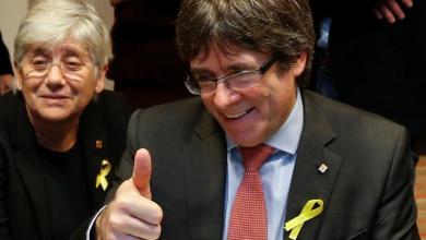 """صورة بودغمون يُذكّر مدريد ب""""قوة الانفصال"""".. بعد انتخابات إقليمية"""