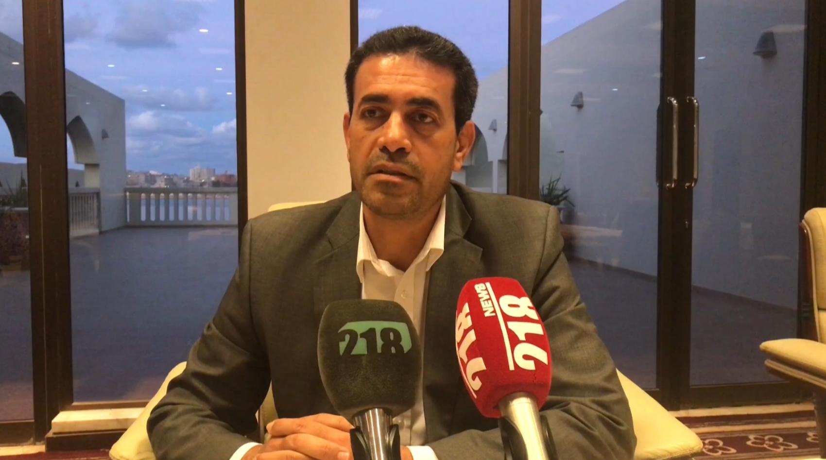 رئيس المفوضية الوطنية العليا للانتخابات عماد السايح
