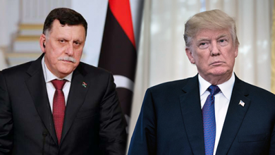 """Photo of السفارة الأميركية تكشف """"تفاصيل"""" لقاء ترامب بالسراج"""