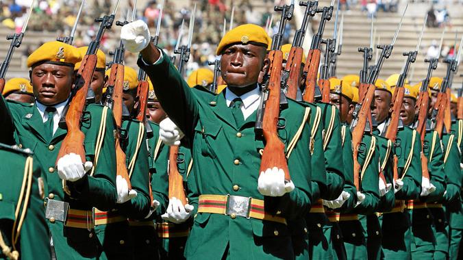 الجيش الزمبابوي
