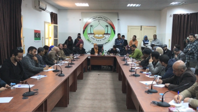 أعضاء اللجنة التحضيرية للمؤتمر الوطني العام الجامع