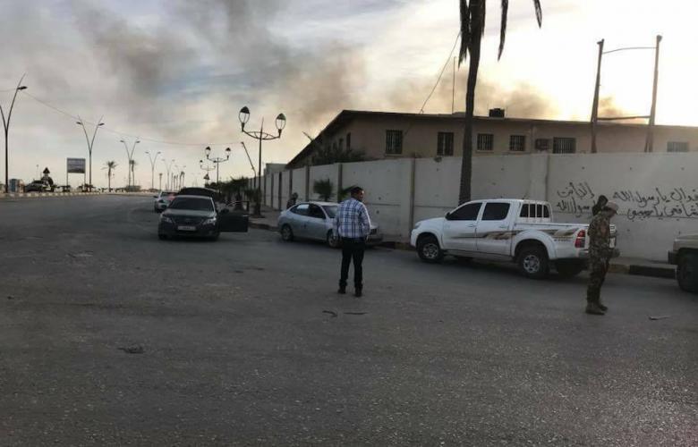 اشتباكات قرب مطار معيتيقة