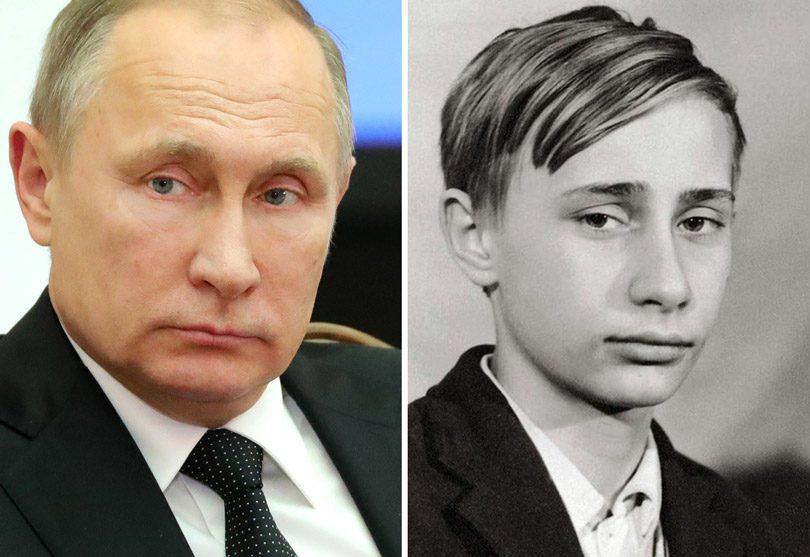 الرئيس الروسي الحالي فلاديمير بوتين