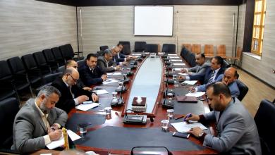 اللجنة المركزية لتوزيع السيولة بمدينة الزاوية
