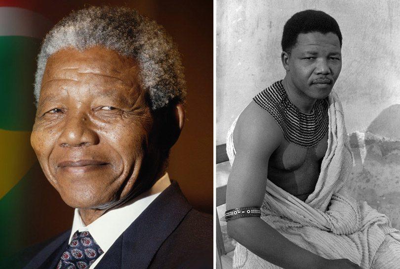 رئيس جنوب أفريقيا سابقاً نيلسون مانديلا