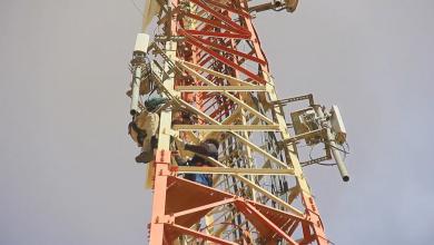 صيانة أبراج تغطية الواي ماكس لشركة ليبيا للاتصالات والتقنية،