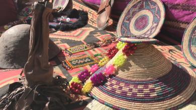 صناعة السعف في غات