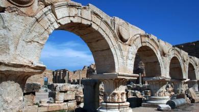 مدينة لبدة الأثرية