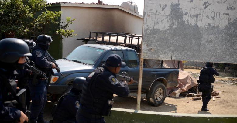 مقتل 11 بمعركة في منتجع لمشاهير هوليود في المكسيك