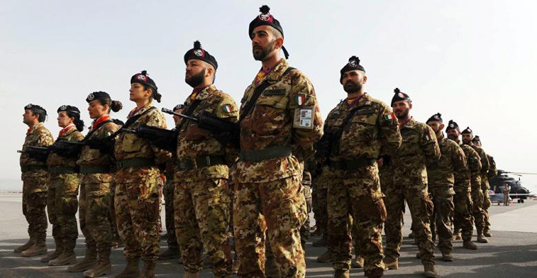 """نتيجة بحث الصور عن صحيفة: """"جنود وسيارات"""" إيطالية إلى ليبيا"""
