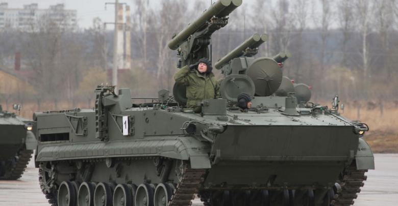 آلية قتالية روسية يُطلق عليها اسم كريزانتيم
