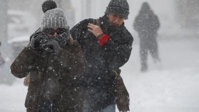 """صورة أضرار كبيرة لـ""""عاصفة ثلجية"""" ضربت شمال أميركا"""