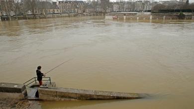 فيضان كبير بباريس