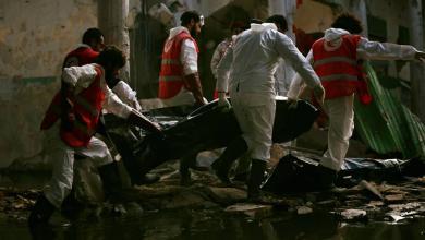 صورة انتشال 73 جثة بمناطق المعارك في بنغازي