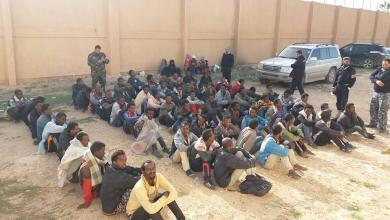 "Photo of ضبط 81 مهاجرا عند ""مهربي البشر"" في اجدابيا (صور)"