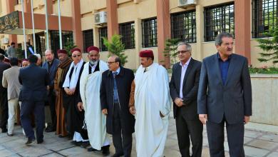 صورة عُمداء يُعزّون بنغازي.. ويؤكدون دعم الجيش ضد الإرهاب