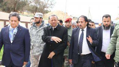 رئيس وزراء الحكومة المؤقتة عبدالله الثني