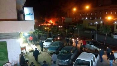 صور أولية متداولة لموقع حادث التفجير في بنغازي
